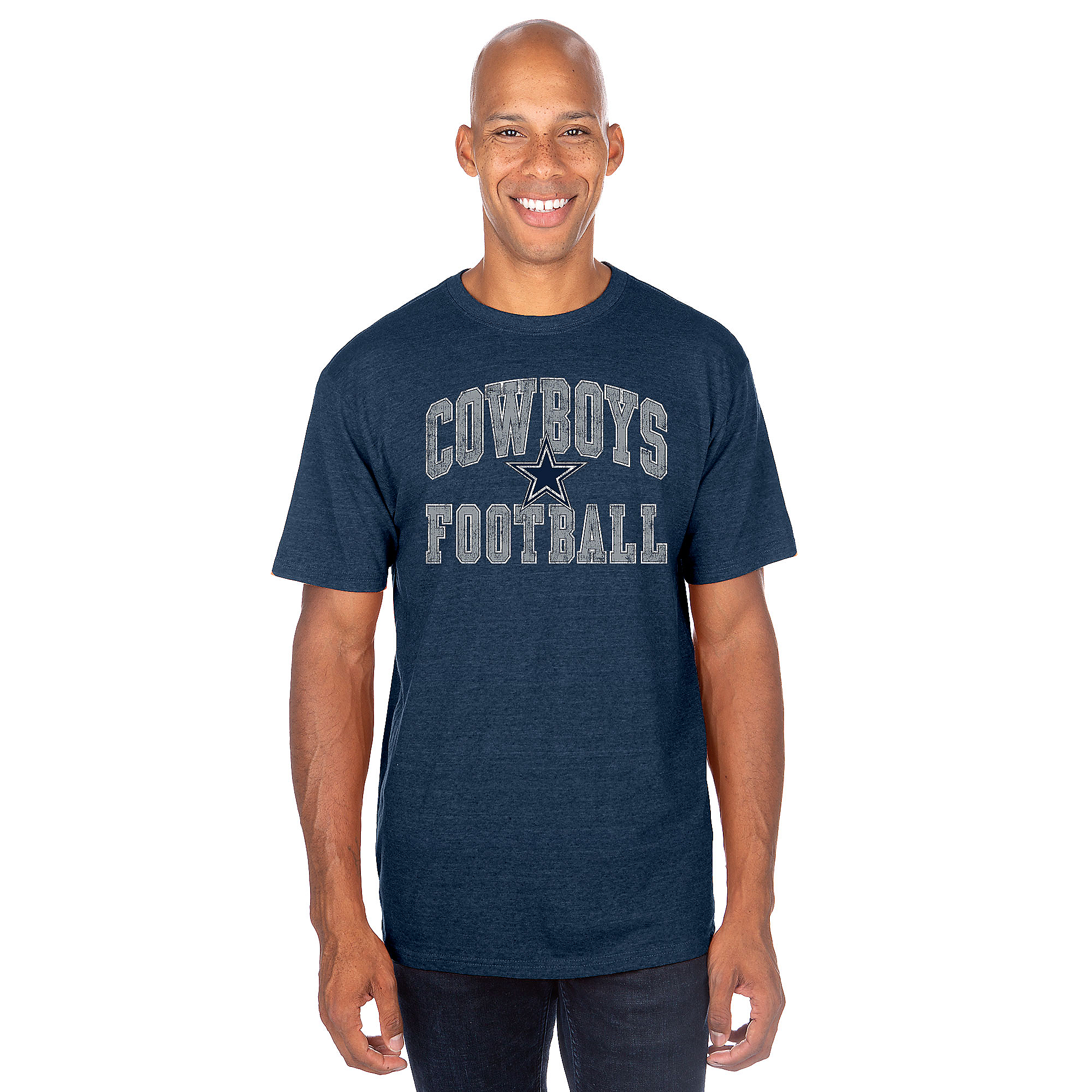 Dallas Cowboys Mens Raffin Short Sleeve T-Shirt
