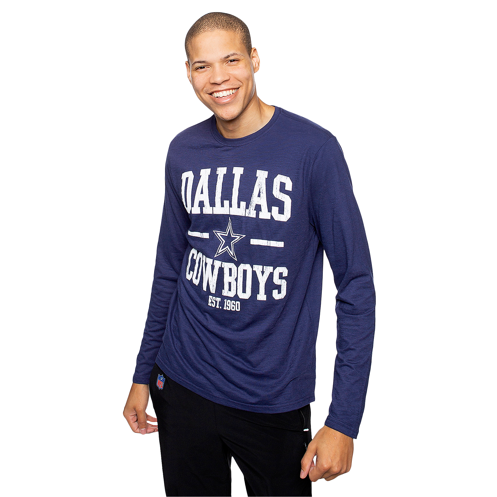 Dallas Cowboys Mens Magnus Long Sleeve T-Shirt