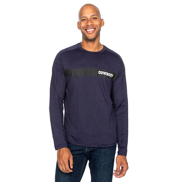 Dallas Cowboys Mens Baltic Long Sleeve T-Shirt