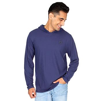 Dallas Cowboys Mens Waylon Long Sleeve Hooded T-Shirt
