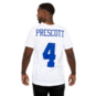 Dallas Cowboys Mens Dak Prescott #4 Nike White Player Pride 3 T-Shirt