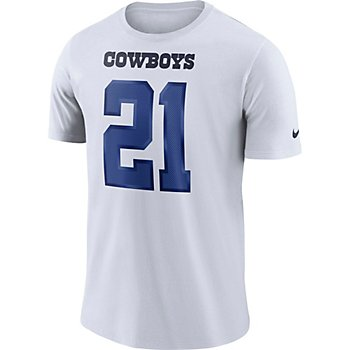 Dallas Cowboys Ezekiel Elliott #21 Nike Player Pride 3 T-Shirt