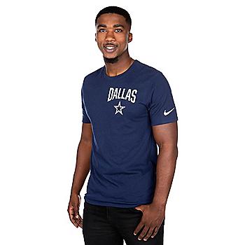 Dallas Cowboys Nike Mens Dri-FIT Facility Short Sleeve T-Shirt