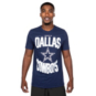 Dallas Cowboys Nike Mens Dri-FIT Cotton Property Of Short Sleeve T-Shirt