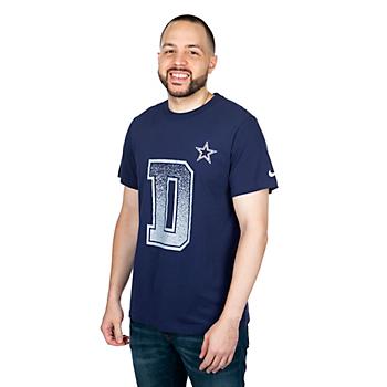 Dallas Cowboys Nike Mens Dri-FIT Cotton Local Verbiage Short Sleeve T-Shirt