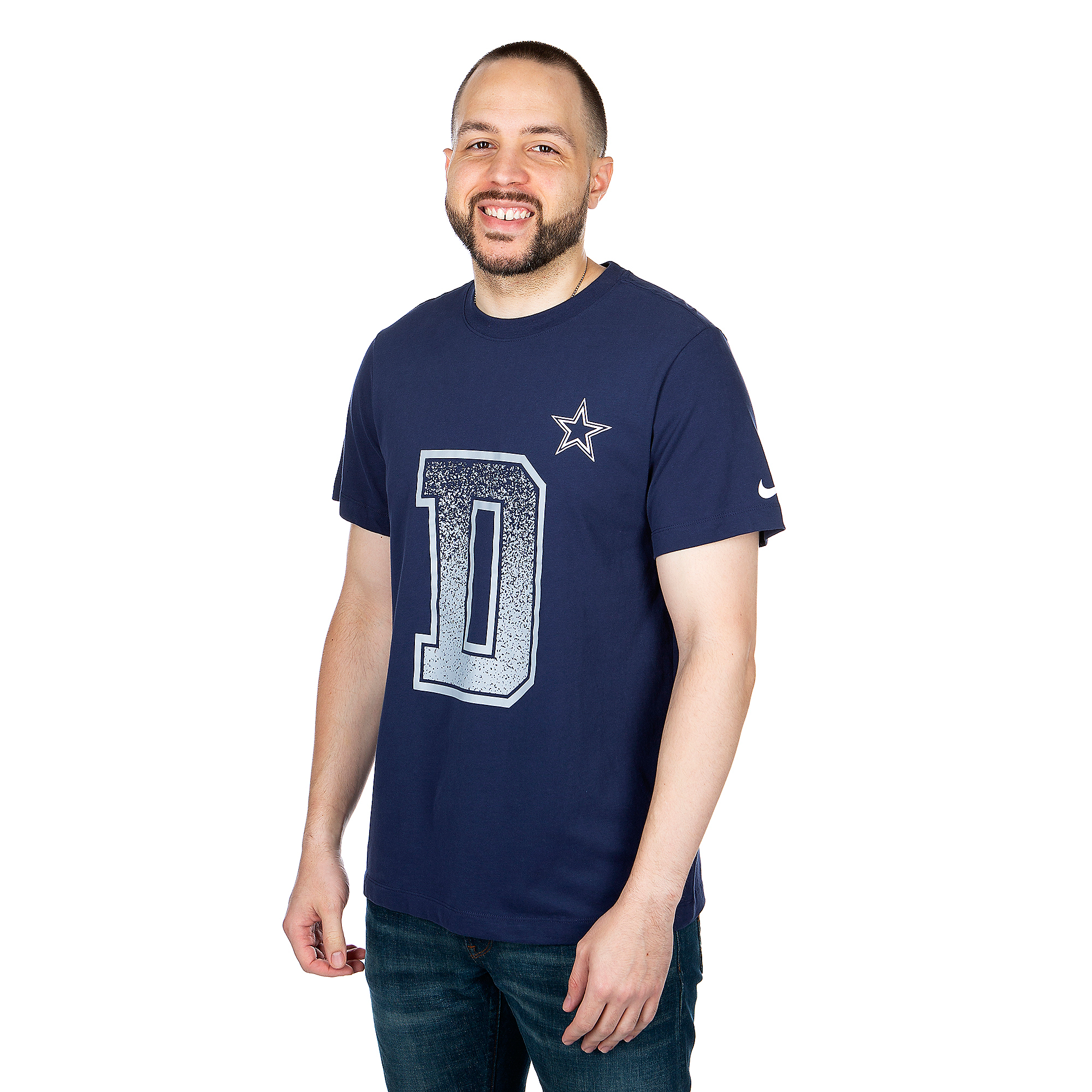 Dallas Cowboys Nike Mens Dri-FIT Cotton Local Verbiage Short Sleeve T-Shirt