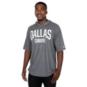 Dallas Cowboys Nike Mens Dri-FIT Cotton Train Short Sleeve Hooded T-Shirt