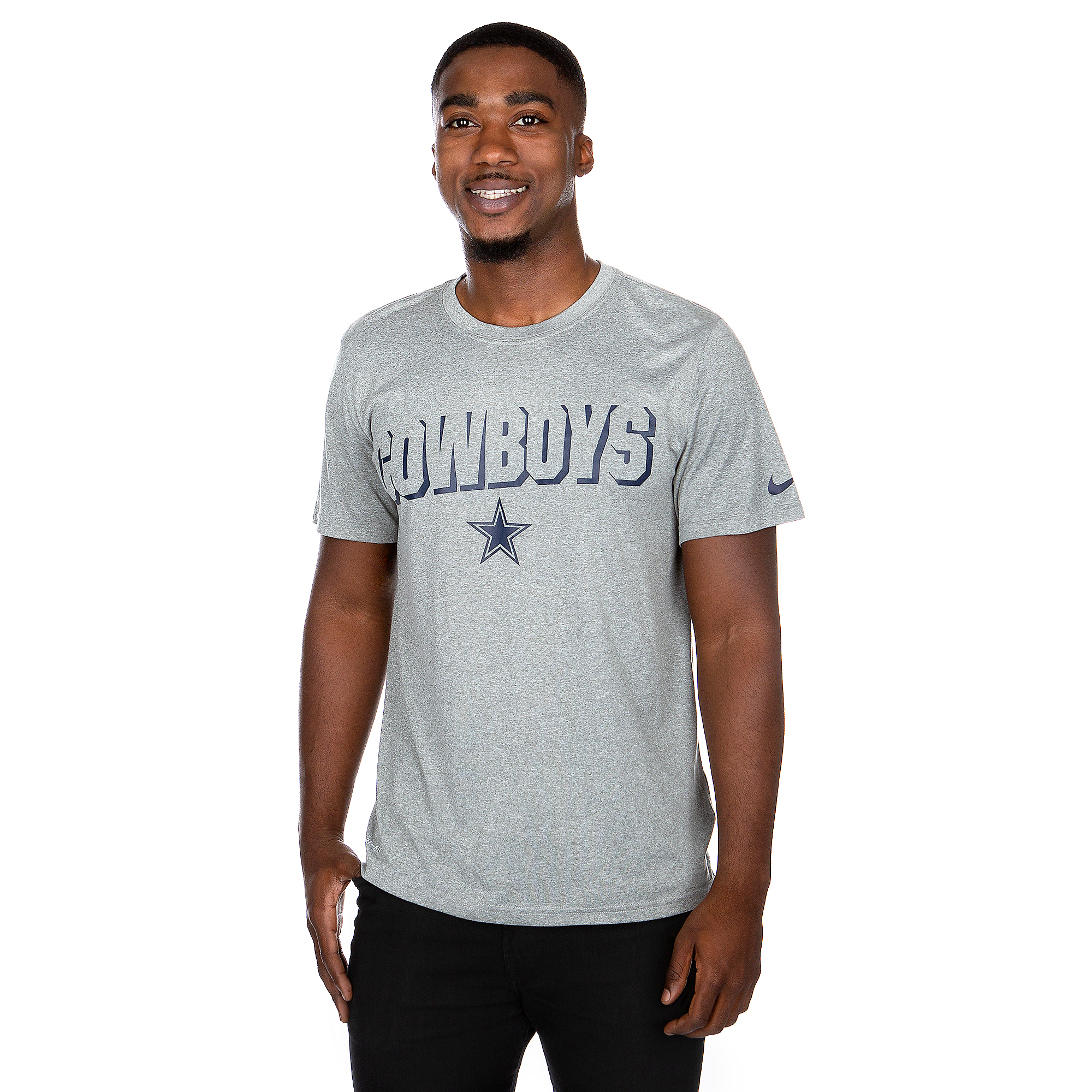 Dallas Cowboys Nike Mens Legend Lift Reveal Short Sleeve T-Shirt
