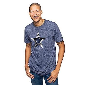 Dallas Cowboys Nike Mens Historic Marled Short Sleeve T-Shirt