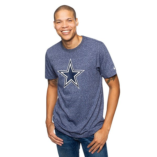Dallas Cowboys Nike Mens Historic Marled Short Sleeve T-Shirt