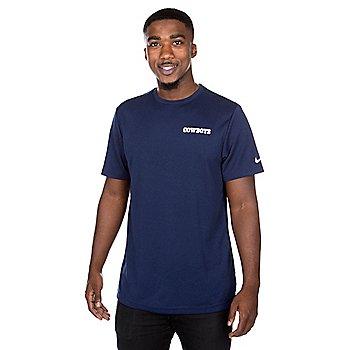 Dallas Cowboys Nike Dri-FIT Mens Coach Short Sleeve T-Shirt