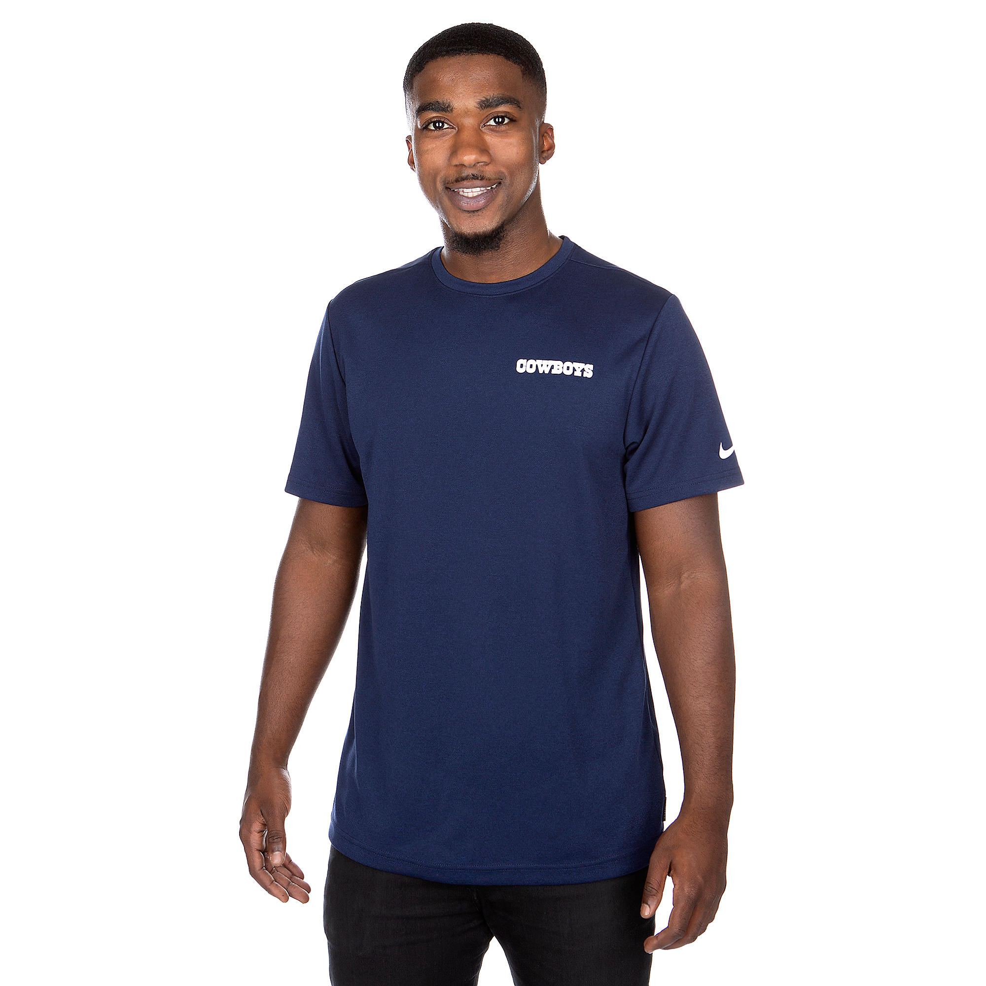 Dallas Cowboys Nike Mens Coach Dry Short Sleeve T-Shirt