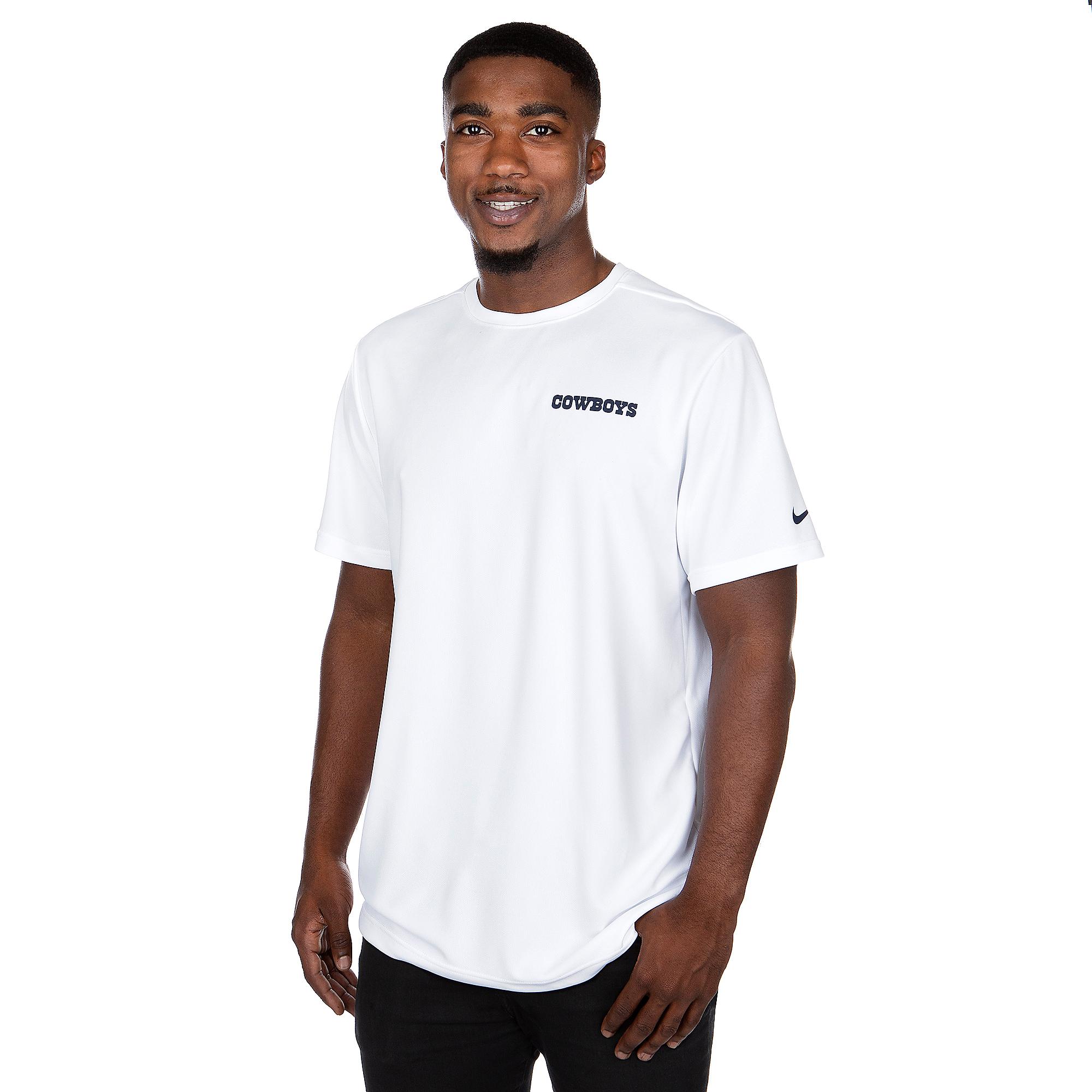 Dallas Cowboys Nike Mens Dri-FIT Coach Short Sleeve T-Shirt