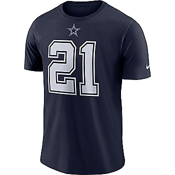 Dallas Cowboys Ezekiel Elliott #21 Nike Player Pride Logo T-Shirt