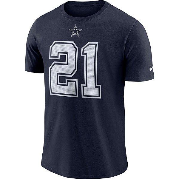 Dallas Cowboys Ezekiel Elliott #21 Nike Player Pride Logo T-Shirt
