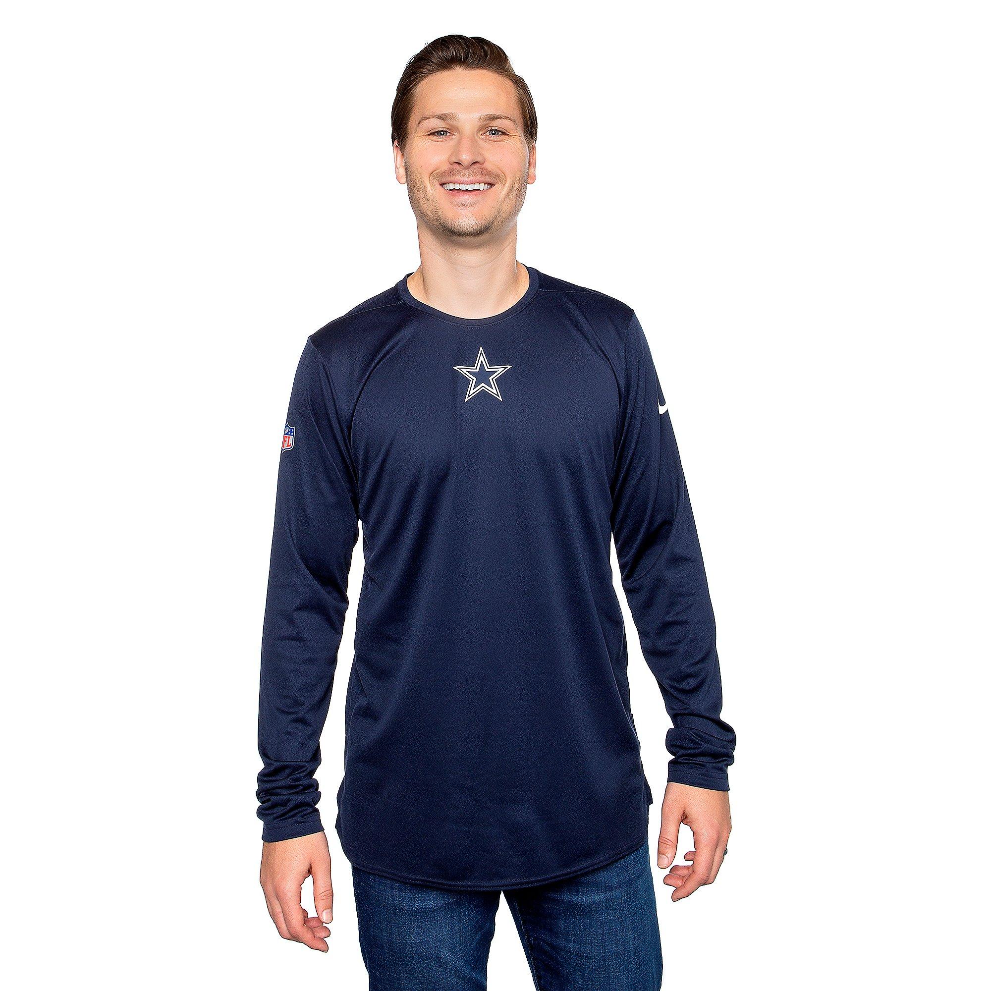 Dallas Cowboys Nike Mens 360 Long Sleeve Player T-Shirt