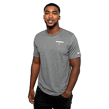 Dallas Cowboys Nike Mens Micro Wordmark Short Sleeve T-Shirt