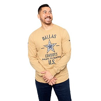 Dallas Cowboys Nike Salute to Service Mens Local Long Sleeve T-Shirt