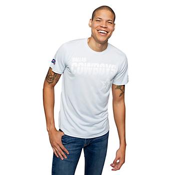 Dallas Cowboys Nike 100th Anniversary Platinum Mens T-Shirt
