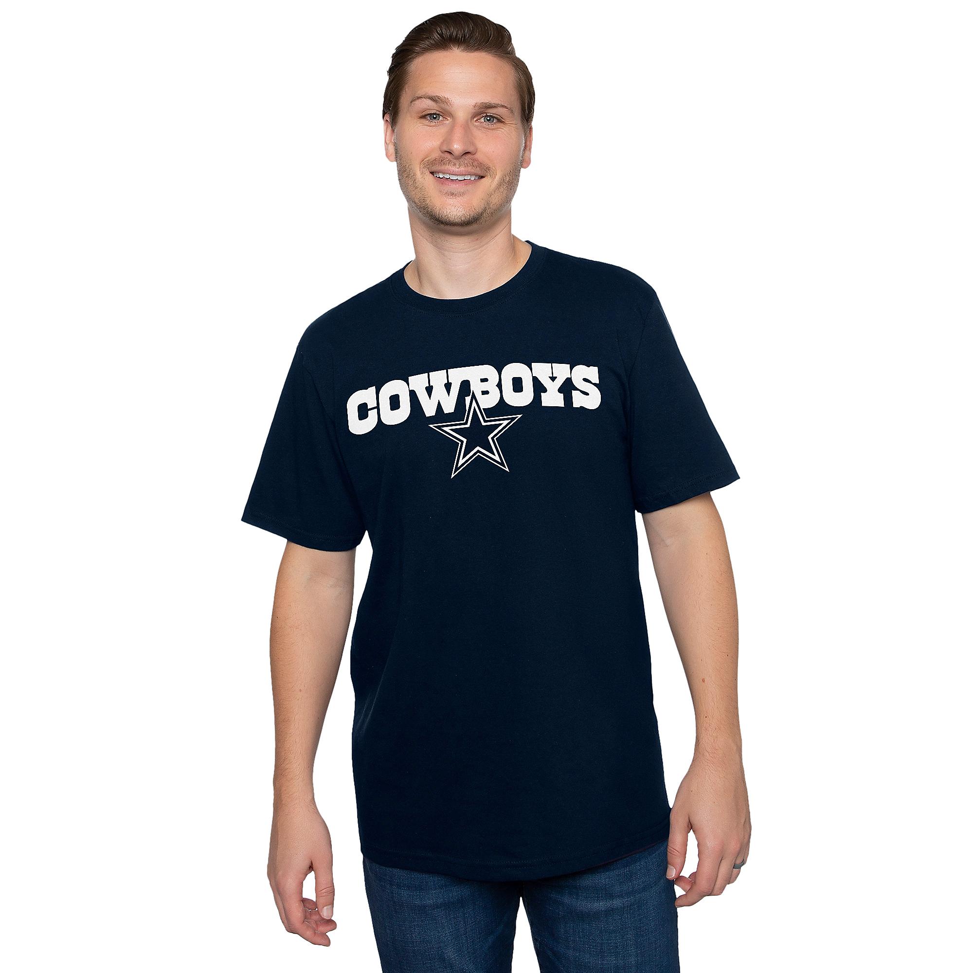 Dallas Cowboys Mens Brenden Short Sleeve T-Shirt
