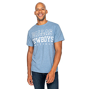 Dallas Cowboys Mens Practice Dock Short Sleeve T-Shirt