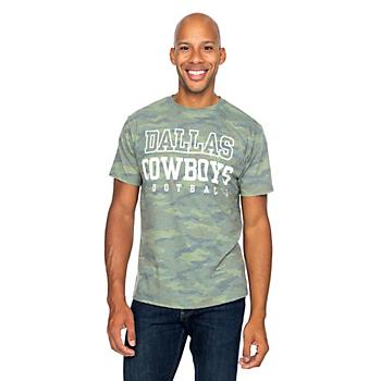 Dallas Cowboys Mens Practice Troop Short Sleeve T-Shirt