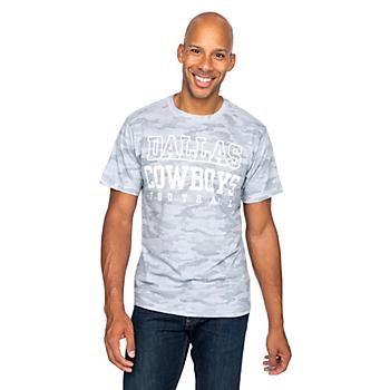 Dallas Cowboys Mens Practice Barracks Short Sleeve T-Shirt