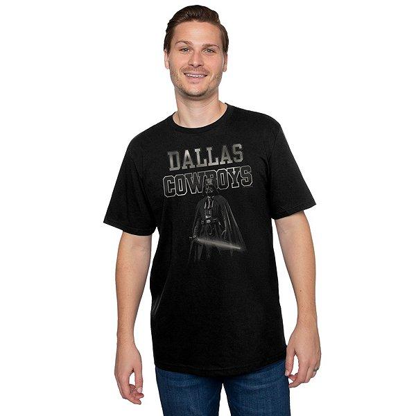 Dallas Cowboys Star Wars Mens Vader's Team Short Sleeve T-Shirt