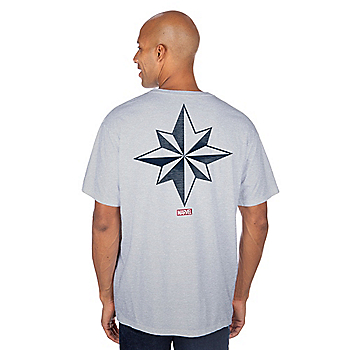 Dallas Cowboys MARVEL Captain Marvel T-Shirt