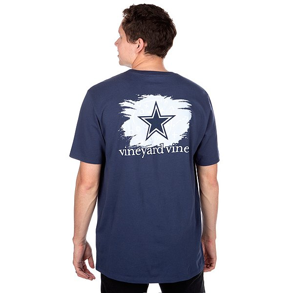 Dallas Cowboys Vineyard Vines Playbook Short Sleeve T-Shirt