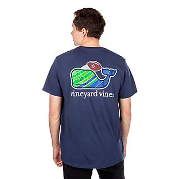 Dallas Cowboys Vineyard Vines Field Goal Short Sleeve T-Shirt