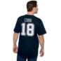 Dallas Cowboys Randall Cobb #18 Authentic Name and Number T-Shirt