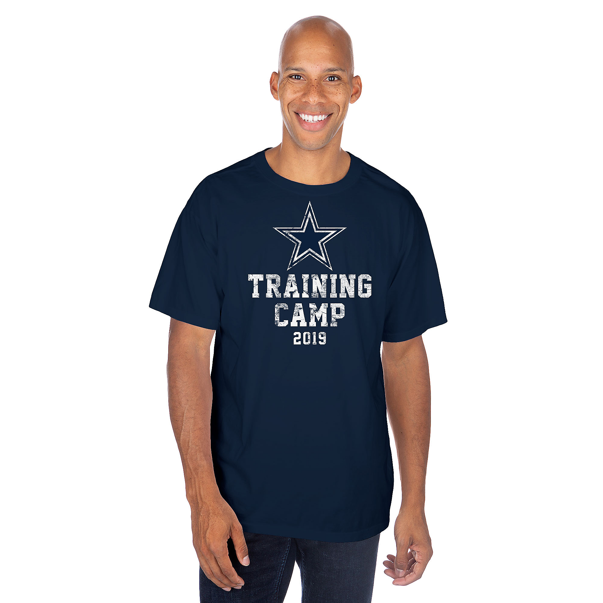 Dallas Cowboys Mens Training Camp Logo Short Sleeve T-Shirt