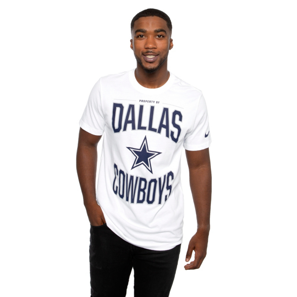 Dallas Cowboys Nike Mens Cotton Property Of Short Sleeve T-Shirt