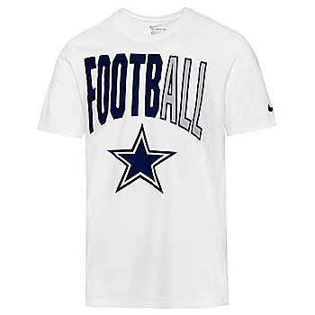 Dallas Cowboys Nike Mens Football All Short Sleeve T-Shirt