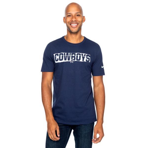 Dallas Cowboys Nike Mens Cotton Mezzo Crew Short Sleeve T-Shirt