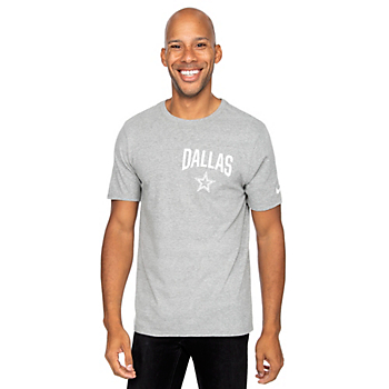 Dallas Cowboys Nike Mens Cotton Facility Short Sleeve T-Shirt