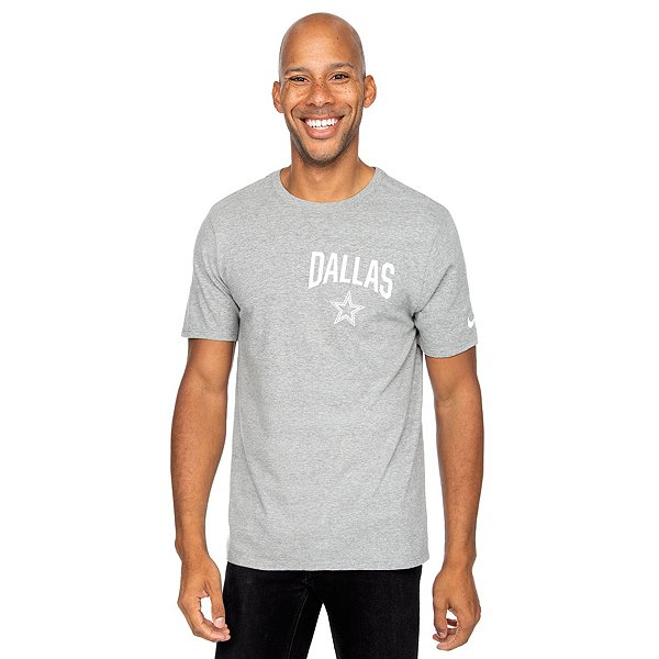 Dallas Cowboys Nike Mens Cotton Facility Short Sleeve T-Shirt