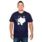 Dallas Cowboys Mens Ezekiel Elliott #21 Silhouette Short Sleeve T-Shirt