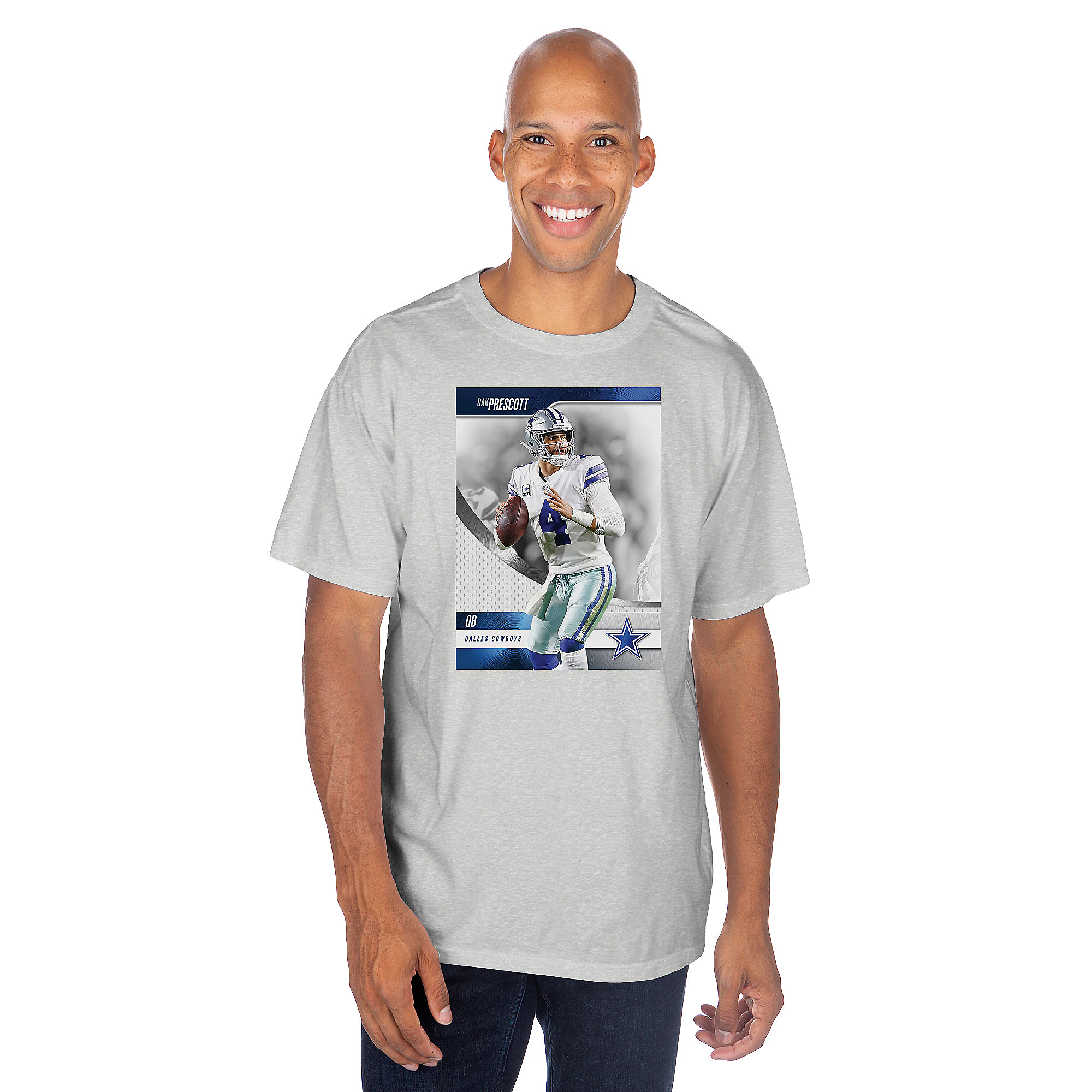 Dallas Cowboys America's Team Dak Prescott #4 T-Shirt