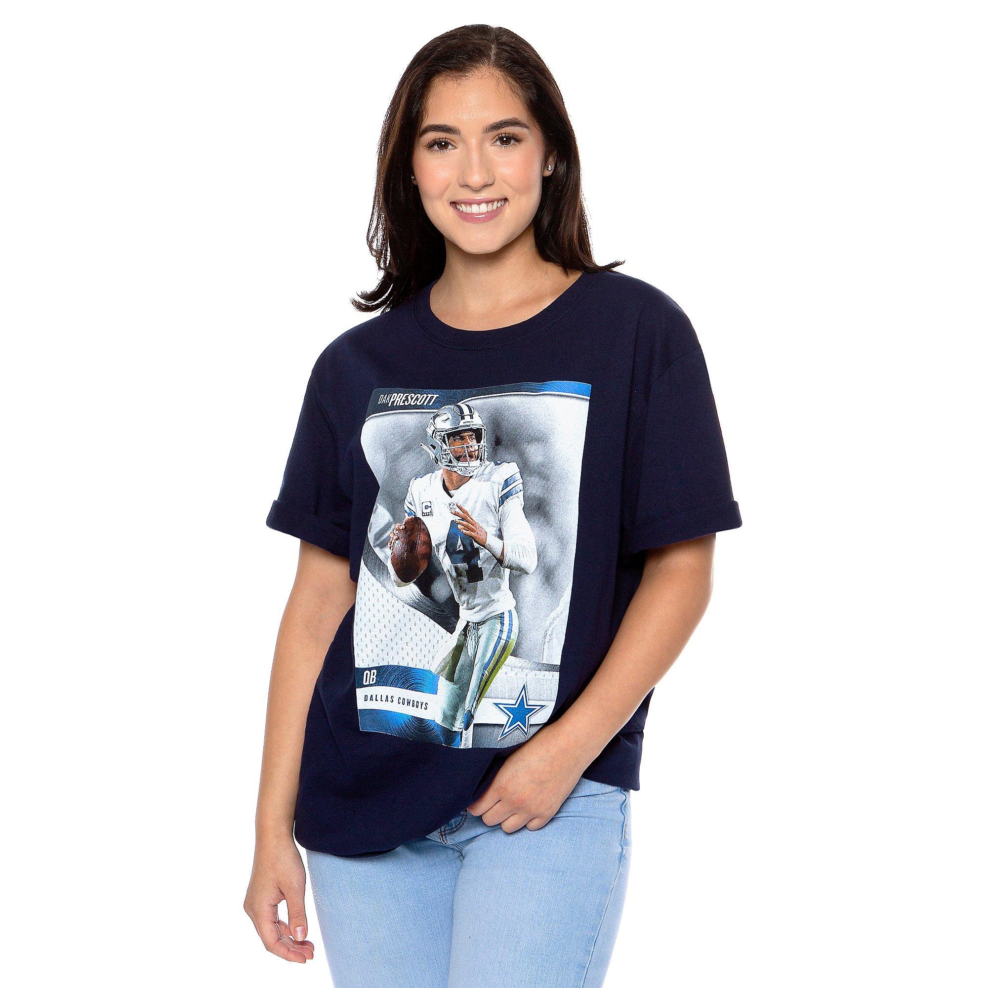 Dallas Cowboys America's Team Dak Prescott #4 T-Shirt