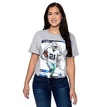 Dallas Cowboys America's Team Ezekiel Elliott #21 T-Shirt