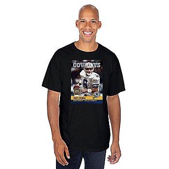 Dallas Cowboys America's Team Troy Aikman #8 T-Shirt