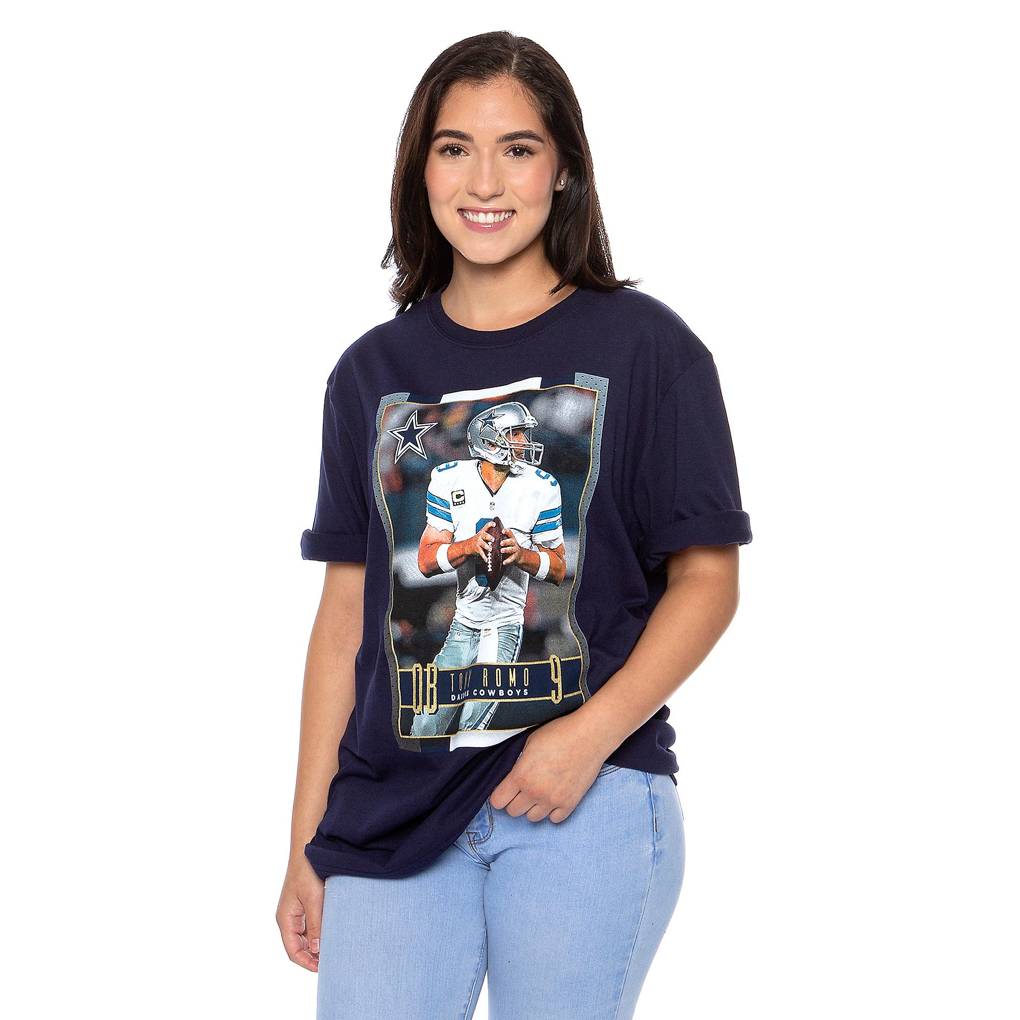 Dallas Cowboys America's Team Tony Romo #9 T-Shirt