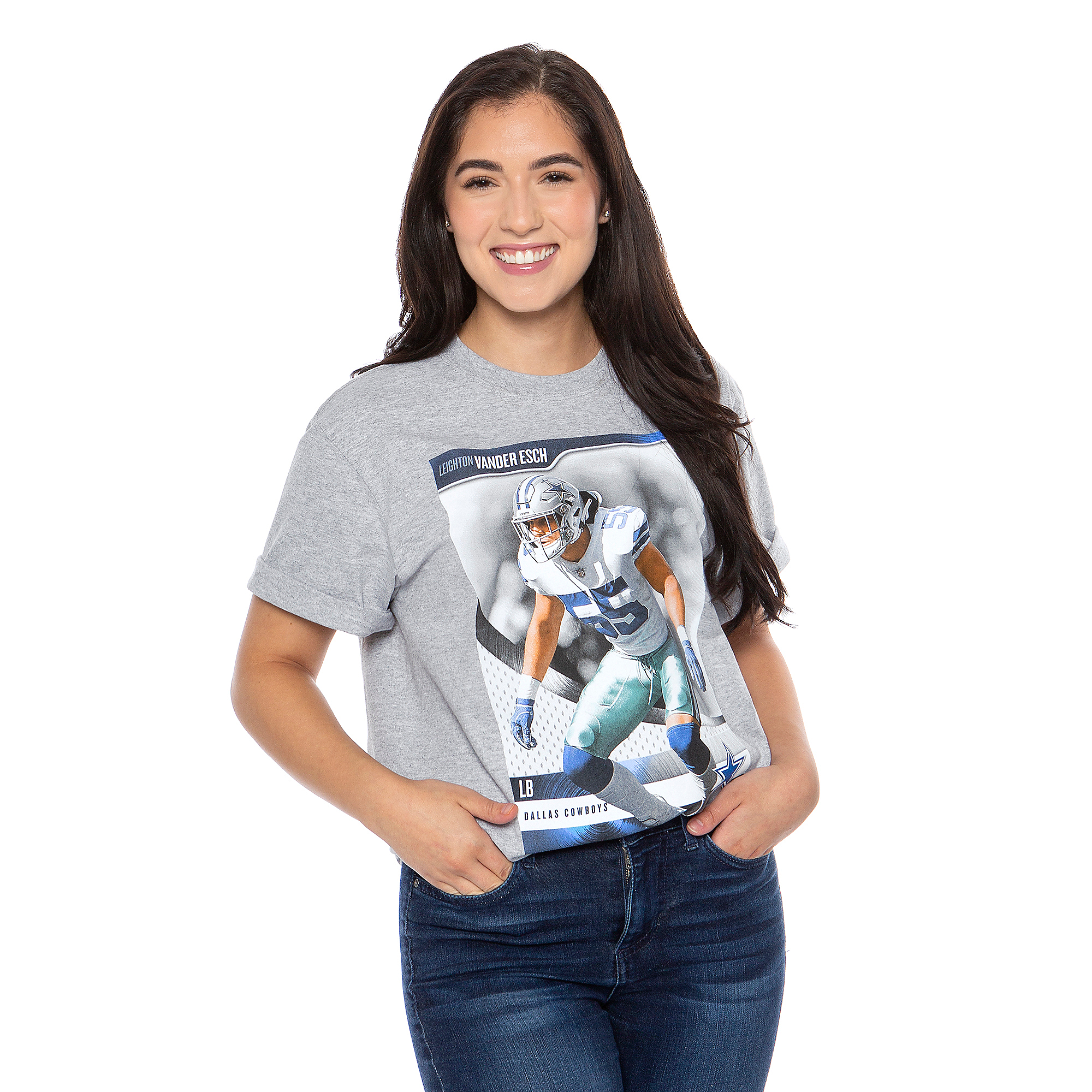 Dallas Cowboys America's Team Leighton Vander Esch #55 T-Shirt