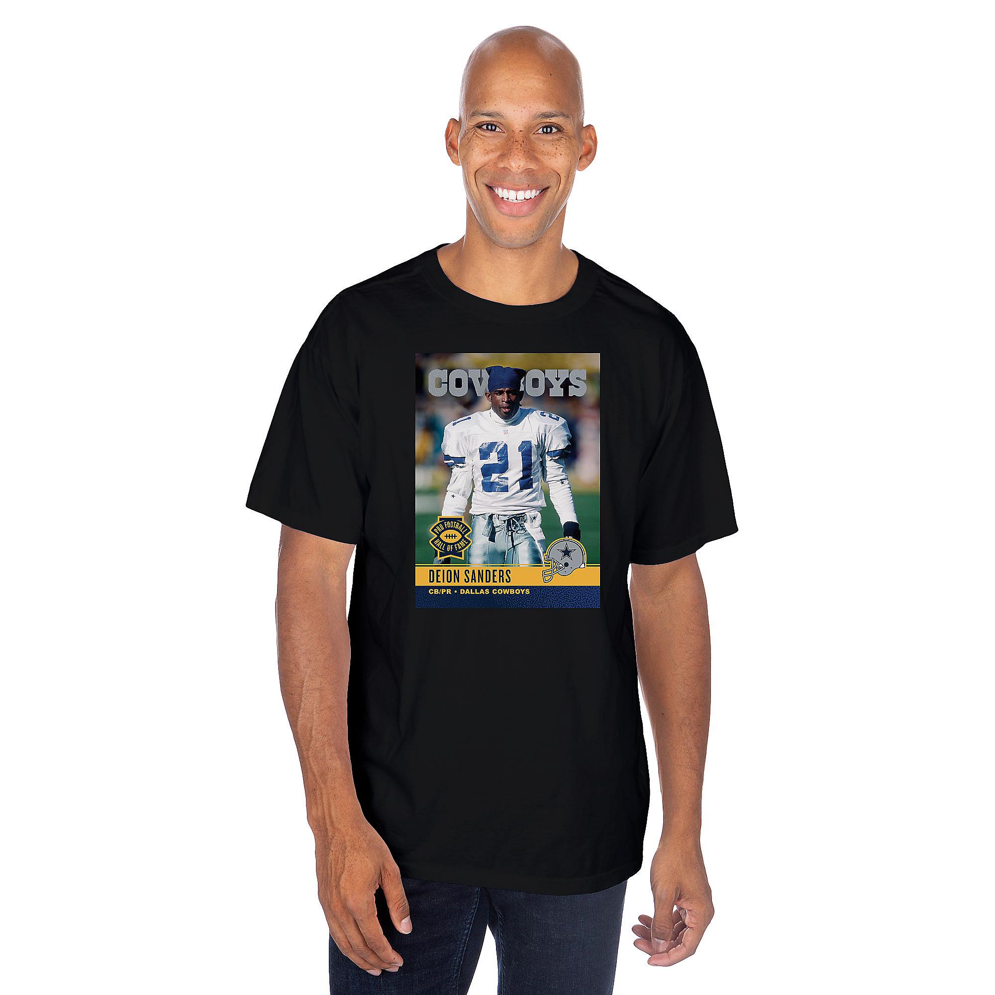 Dallas Cowboys America's Team Deion Sanders #21 T-Shirt