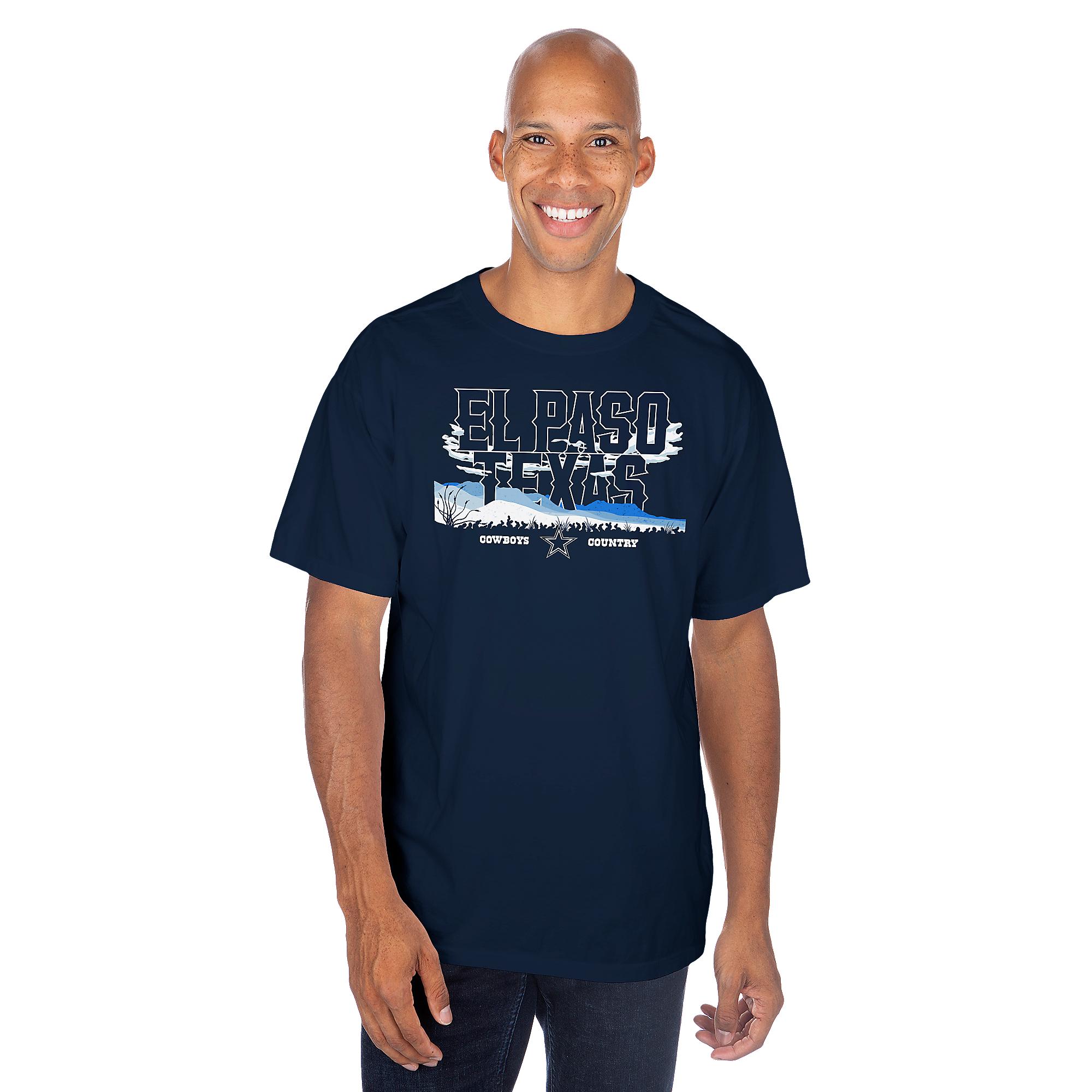 Dallas Cowboys El Paso Local Short Sleeve T-Shirt