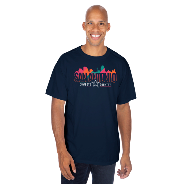 Dallas Cowboys San Antonio Local Short Sleeve T-Shirt