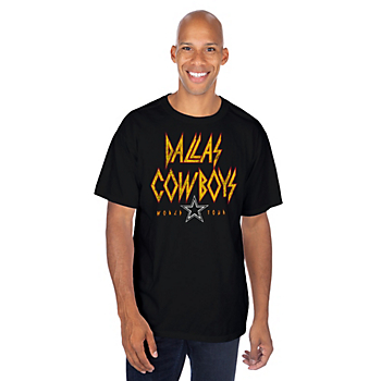 Dallas Cowboys Mens Savage Short Sleeve T-Shirt