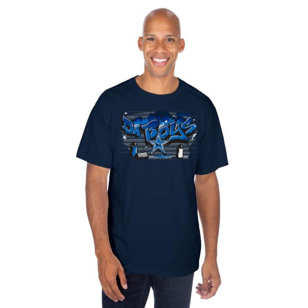 Dallas Cowboys Mens Graffiti Da Boys Short Sleeve T-Shirt